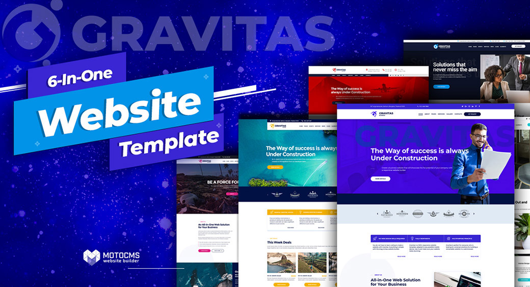 Gravitas Best Corporate Website Design main image
