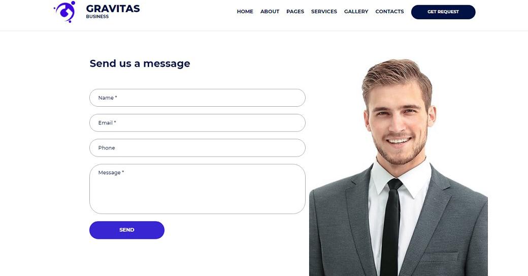 Gravitas Contact Us