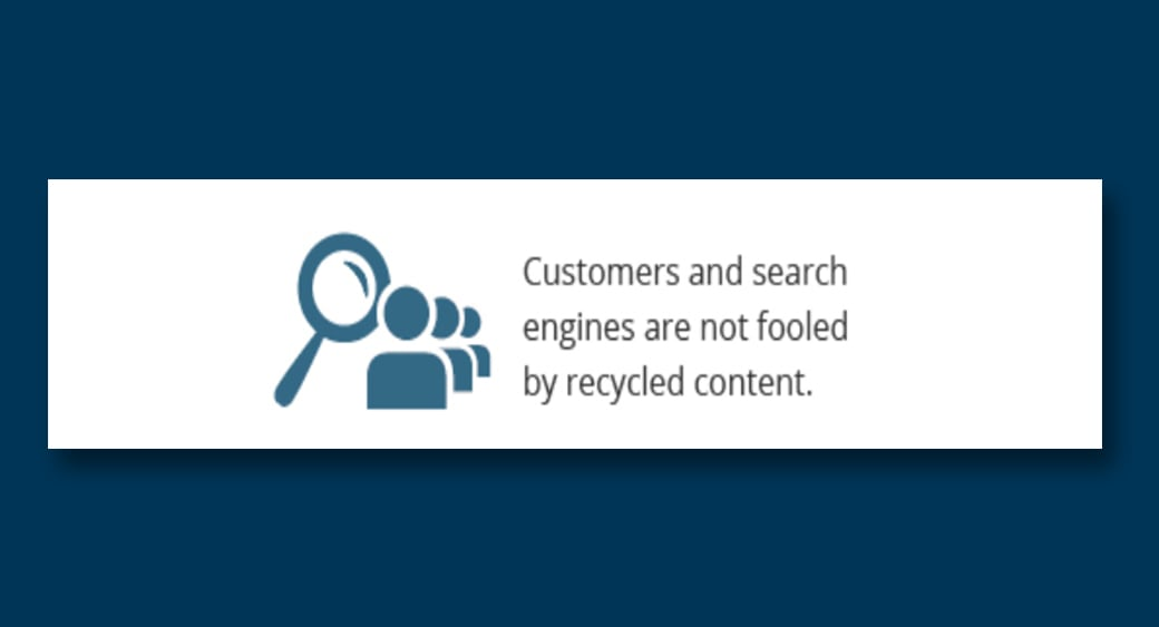 duplicated content SEO issues