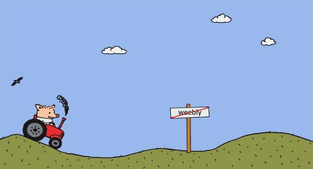 как перенести сайт с Weebly и настроить его