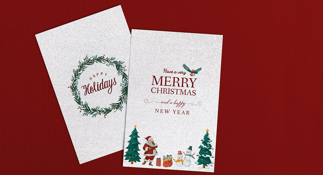 free Christmas invitation templates main image