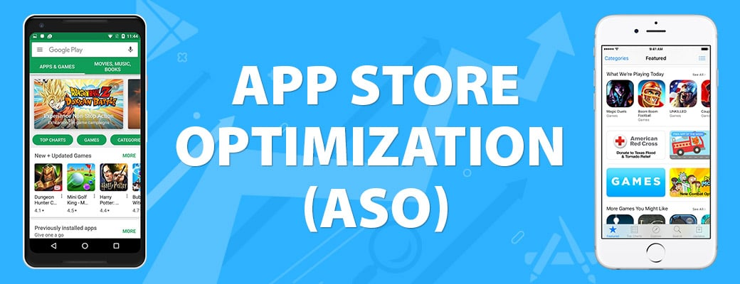 optimize the mobile apps to rank higher in the app store