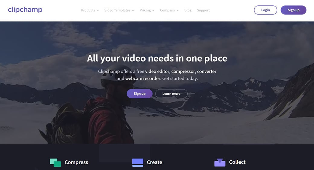 ClipChamp video editor image