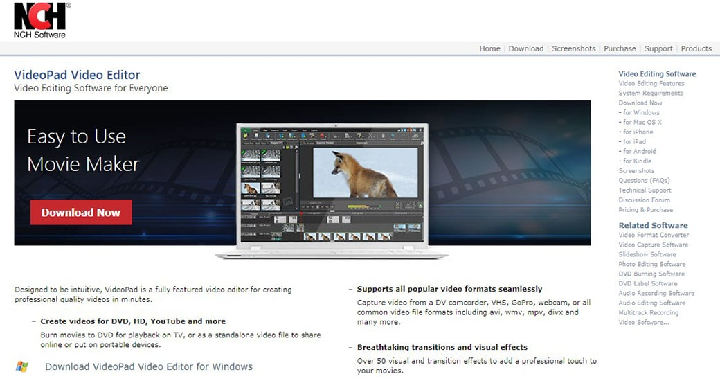 VideoPad Video Editor image