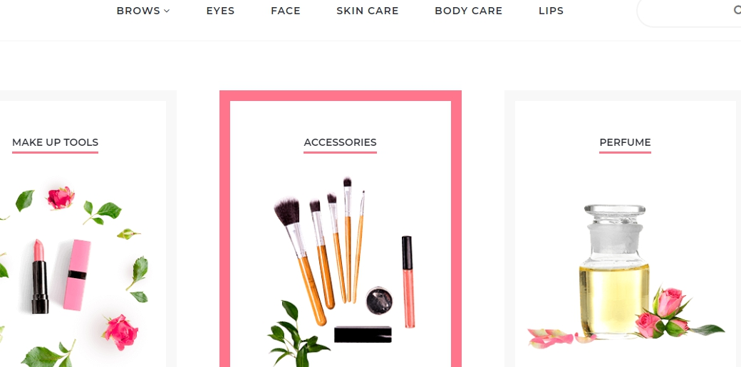 online store for beauty products image