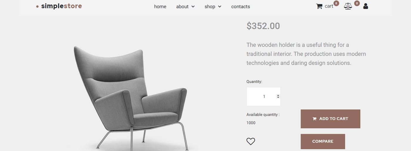 Home Decor Ecommerce Website Template