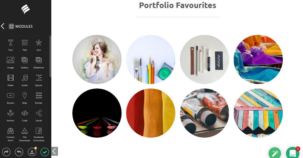 portfolio favorites