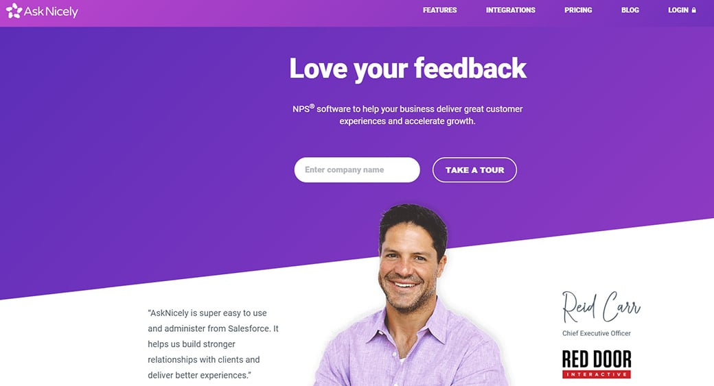 AskNicely cx tool