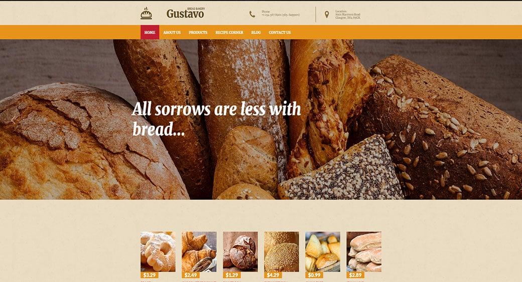 Best Bakery Website Design for Bread Bakers