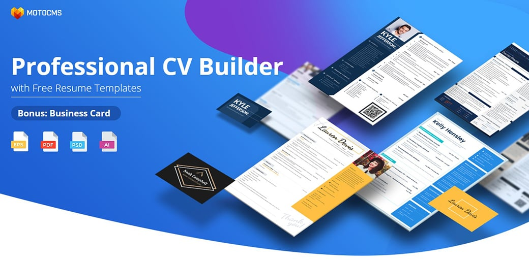 website builder for freelancers - CV