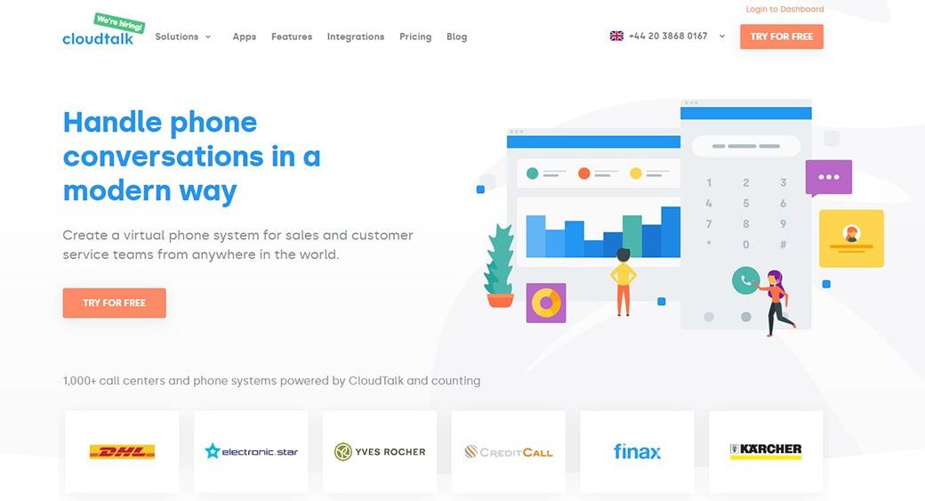 Cloud Talk Customer Engagement Tool