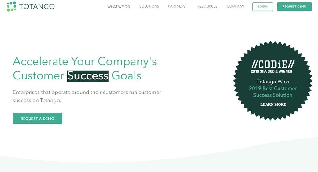 Totango customer success tool