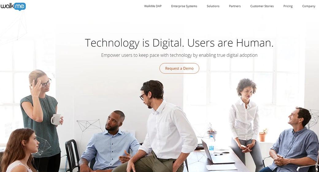 WalkMe digital technology