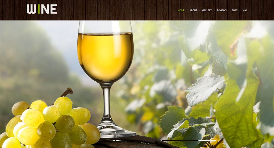 Wine Industry Website Design