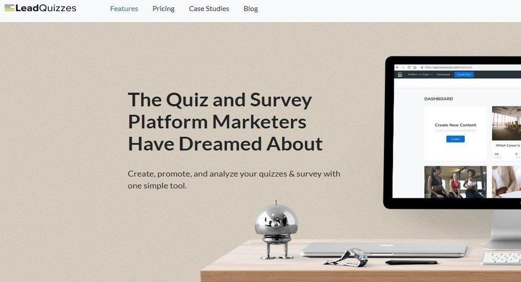 leadquizzes survey maker