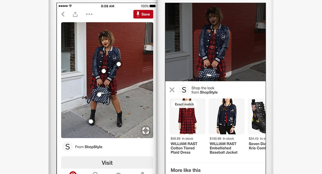 pinterest Shoppable features image