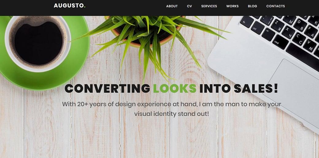 website builder for freelancers - web designer