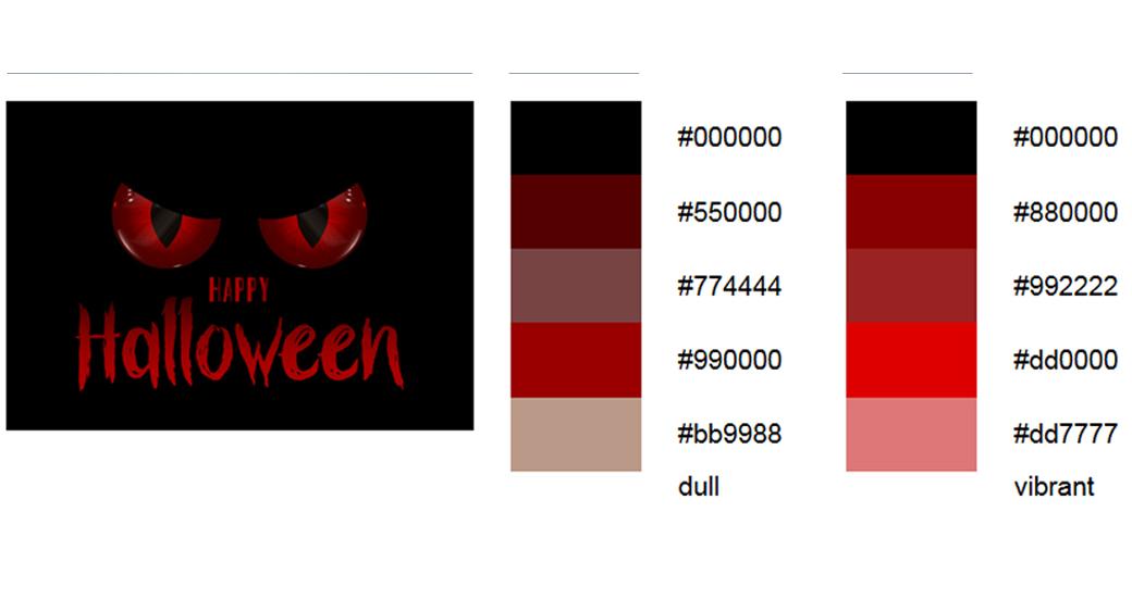 Rot halloween-farben