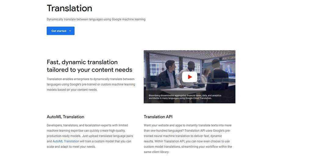 Translation APIs