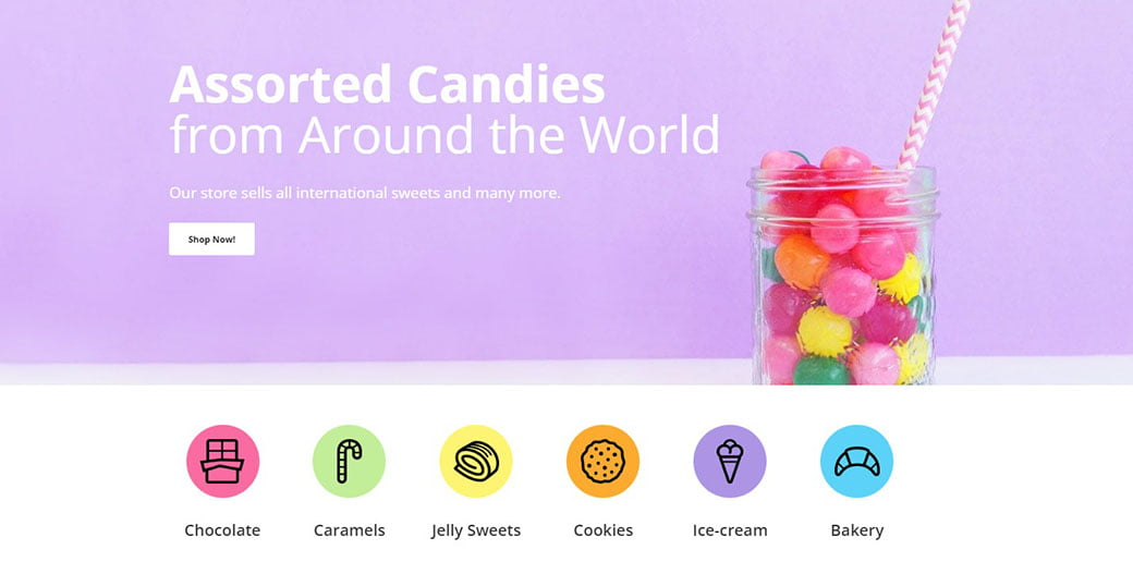 candy shop - collections