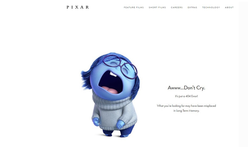 design and emotion - 404 page