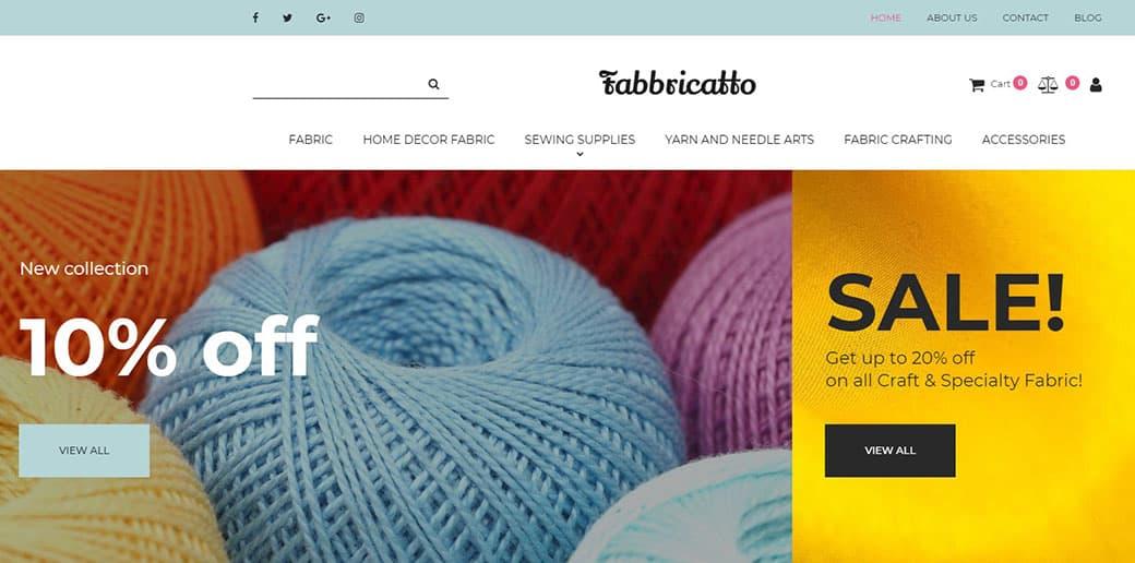 fabric store assortment