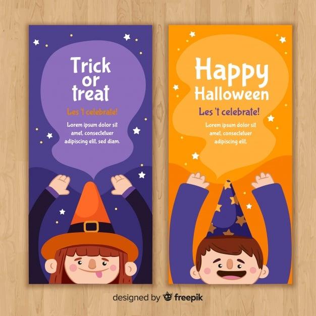 Banner-Vorlagen im Kinderdesign