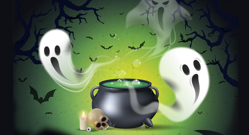 Halloween-Farben bild