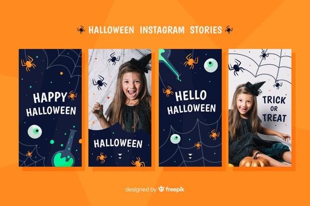 Freundliche Halloween-Vorlage