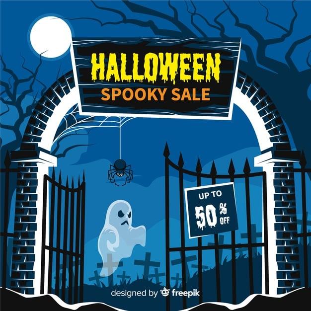 Halloween Spooky Sale