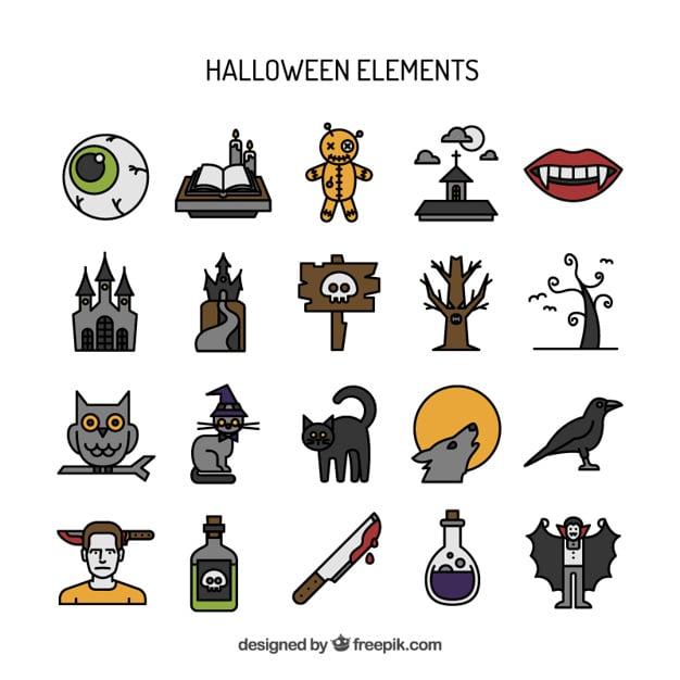 Handgezeichnete Icons