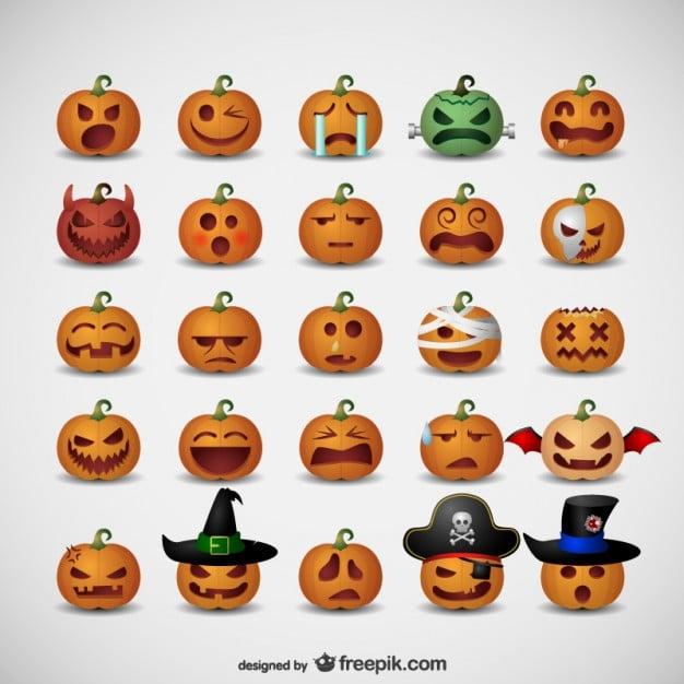 Halloween-Emoticons