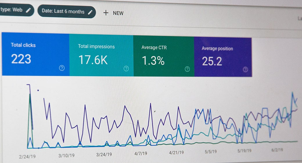 seo indicators image from search console