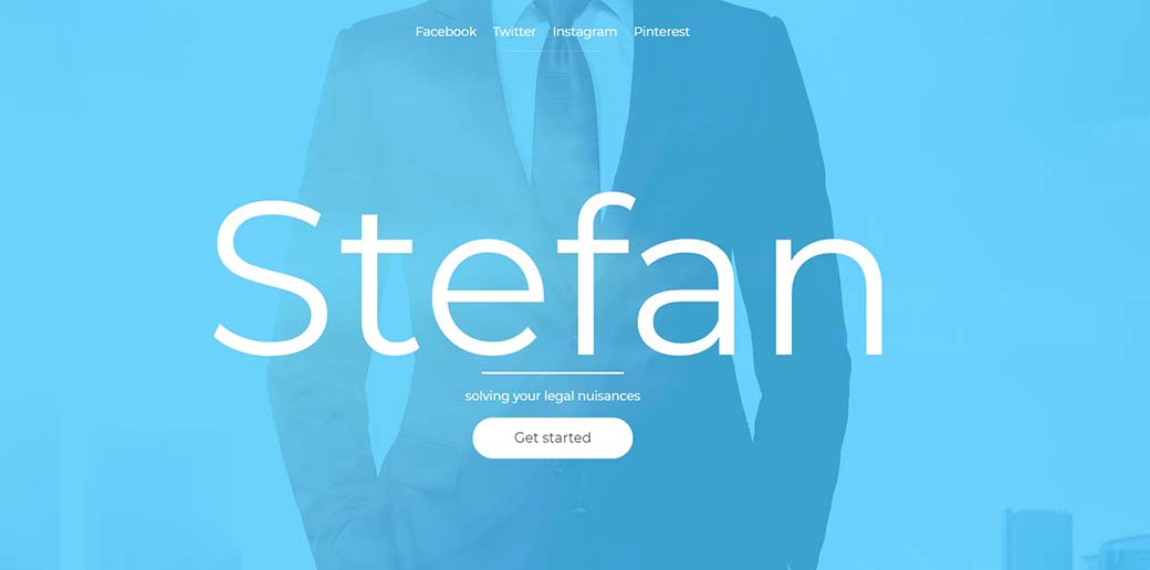 legal website template for local law firms