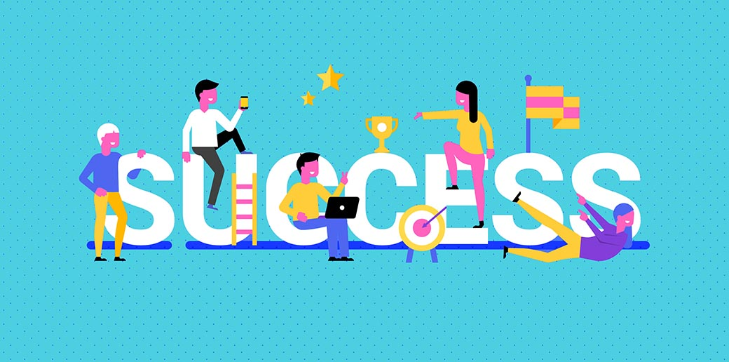 tracking business success