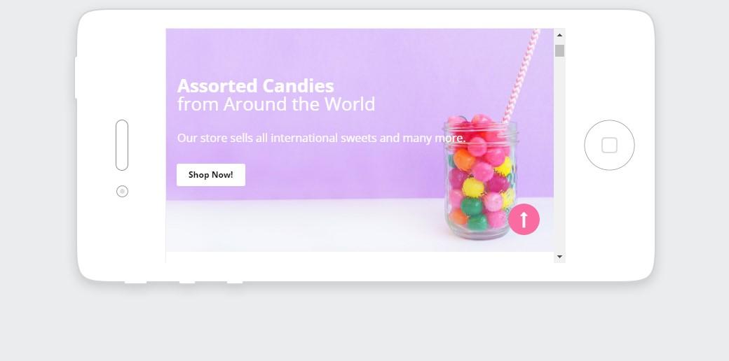 subscription box website - responsive design