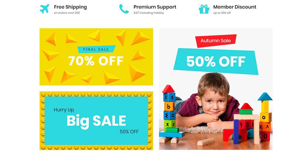 subscription box website - sales