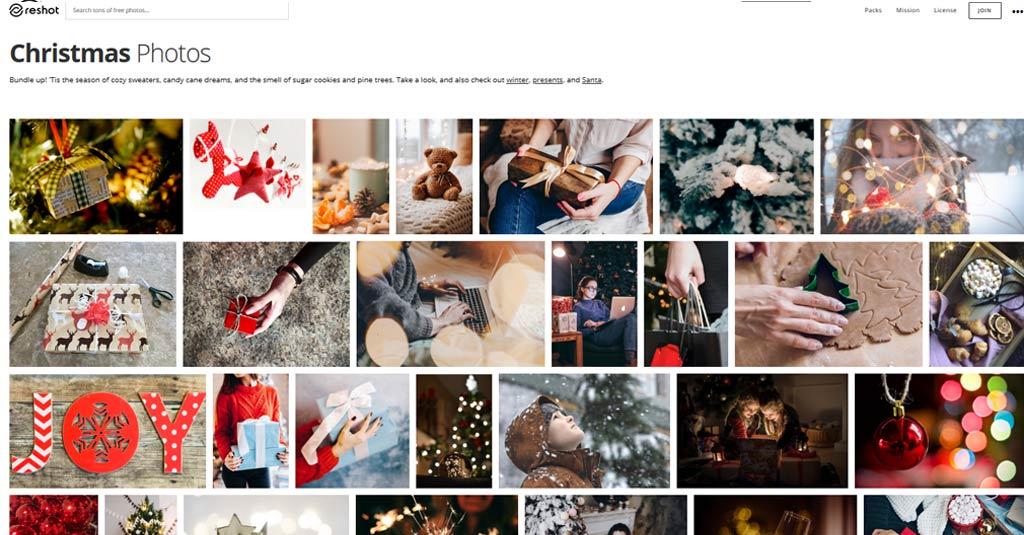 weihnachtsbilder ReShot