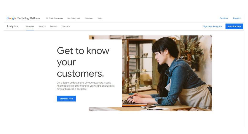 Google Analytics in social media marketing