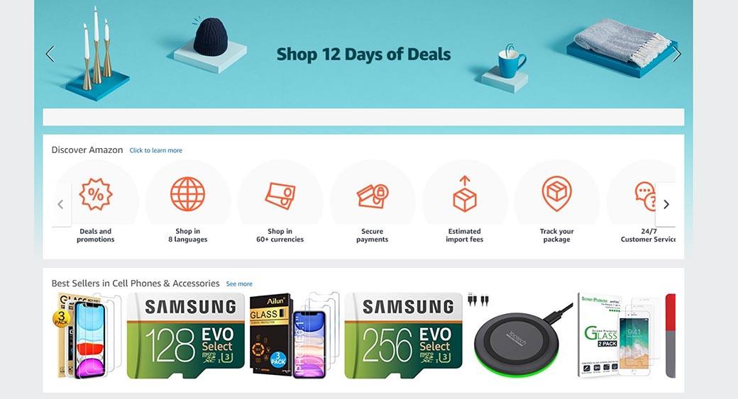 AI in webdevelopment - amazon shopping