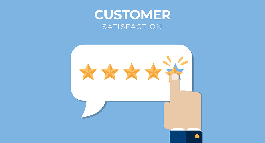 customers' reviews and satisfaction