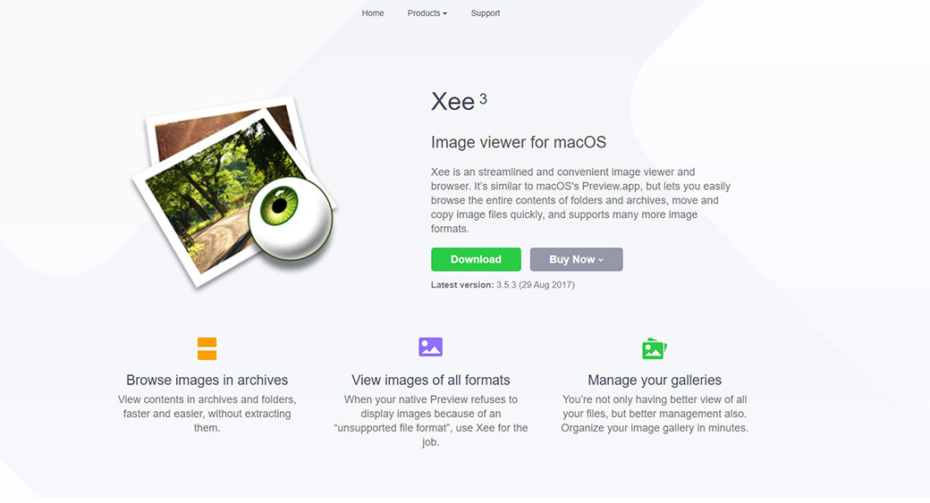 Xee app for web design on Mac