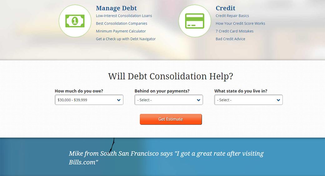 online debt calculator
