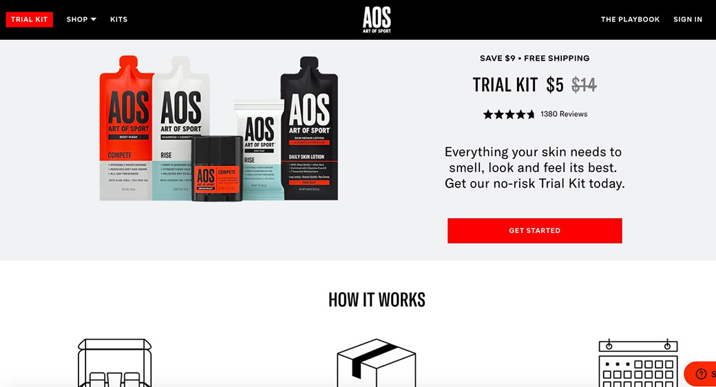 trial kit with discount
