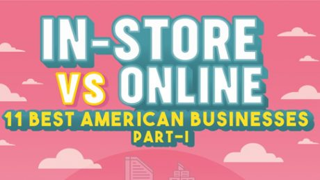 Online Shopping vs In Store Shopping - Infographics