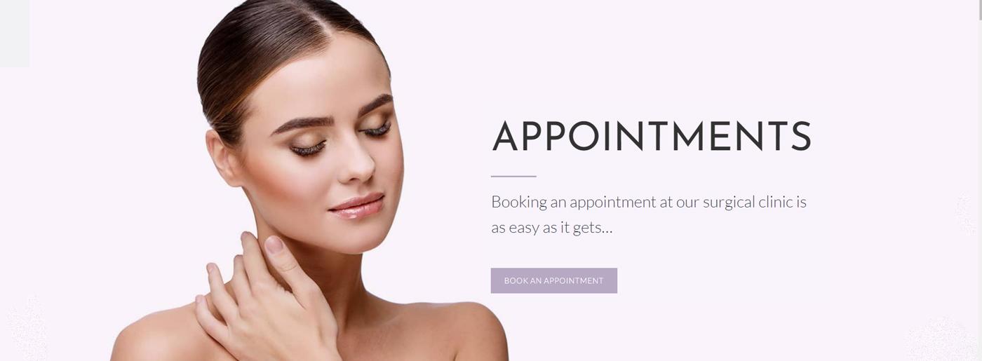 Pink Medical Website Colors