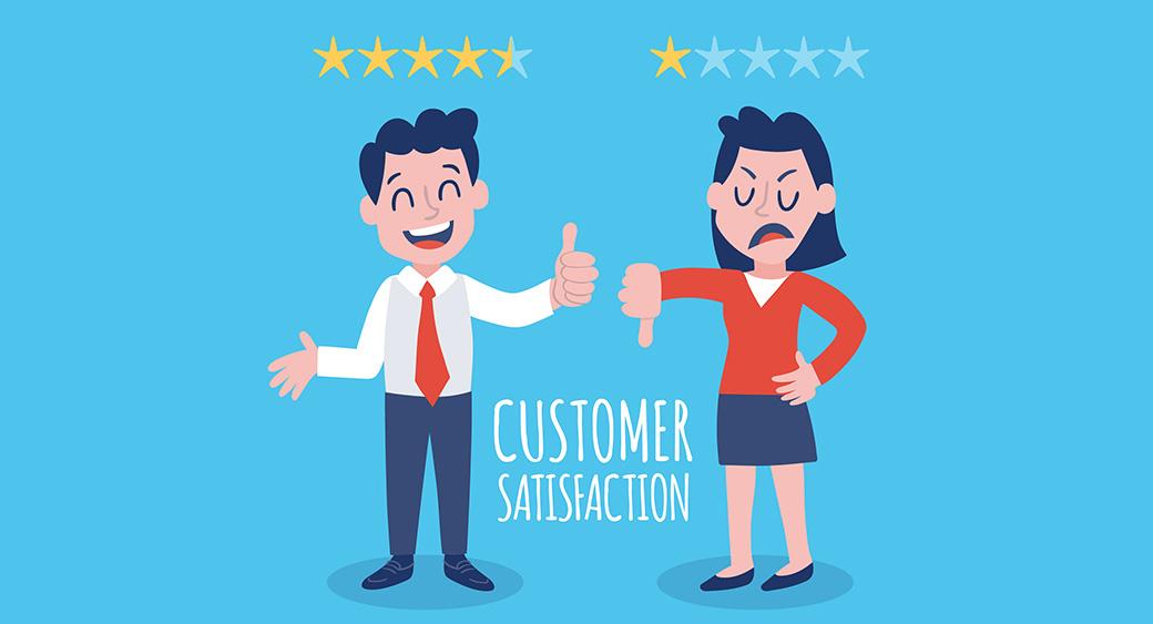 customer satisfaction marks