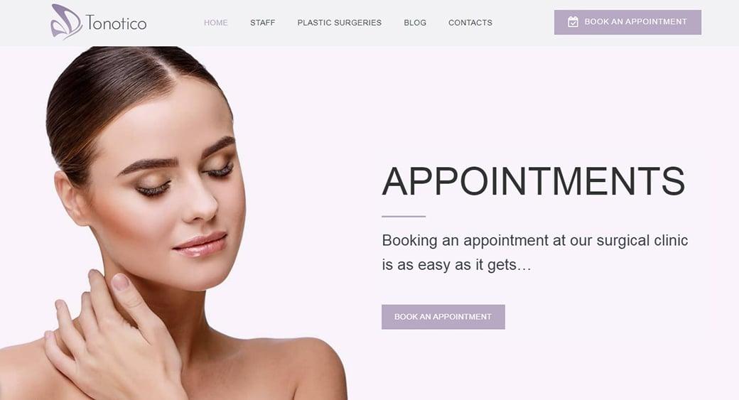 pink shades medical website
