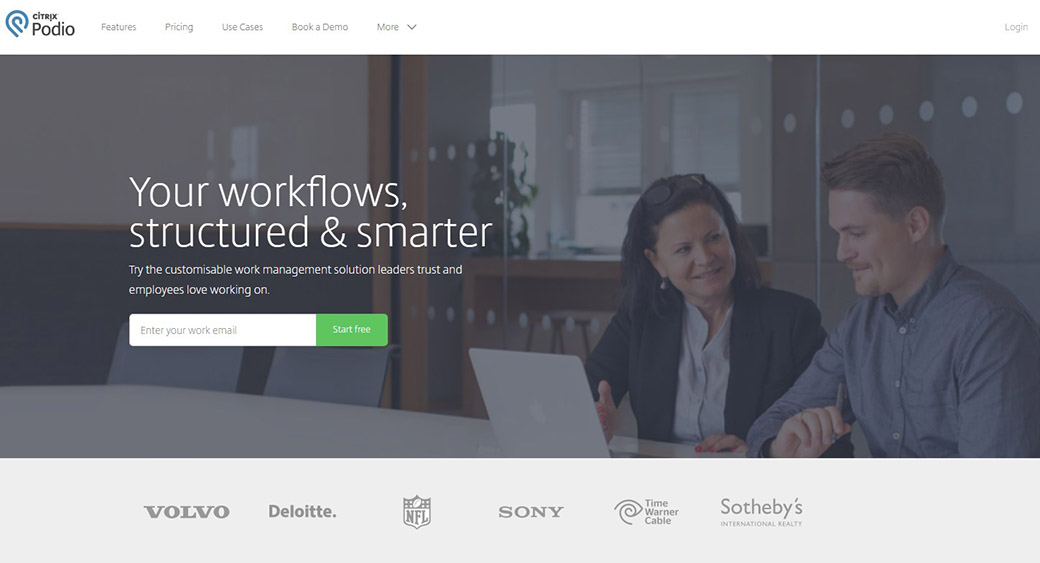 Podio for project management
