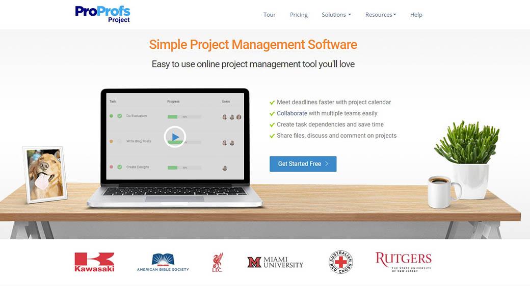 ProProfs as management software